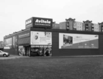 """Shopping mall advertising """"Avitela"""""""