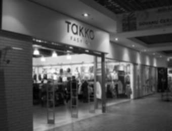 "Retail chain advertising ""Takko fashion"""